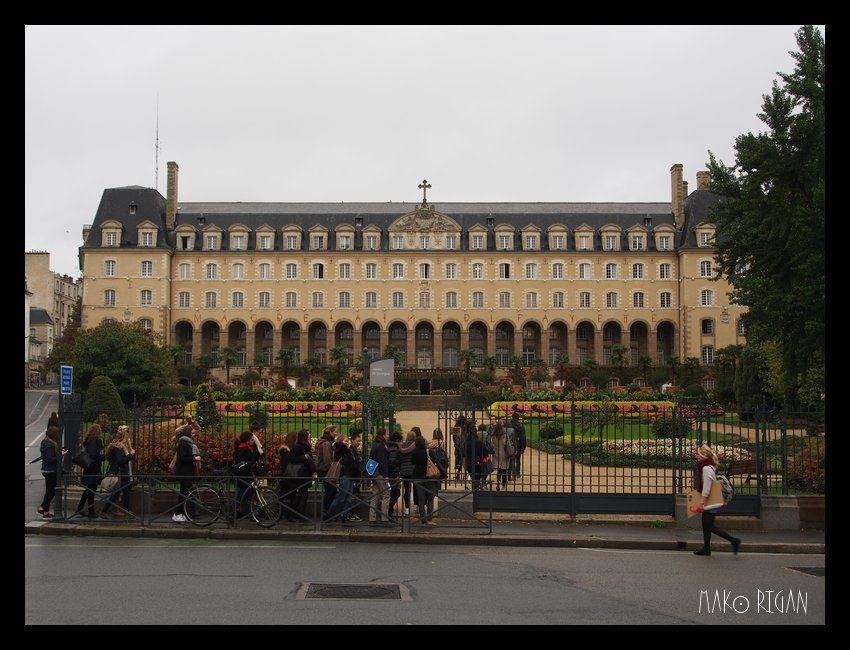 Marseille / Saint-Malo, en stop et aller-retour : 4. Rennes