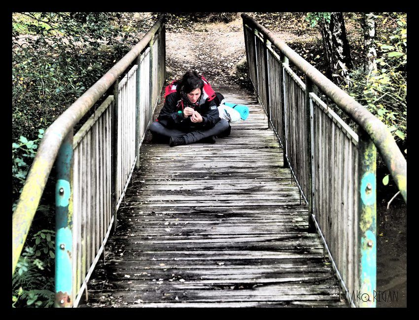 """""""Je vous fais un sourire, jolie dame, et vous me laissez passer le pont ?"""""""