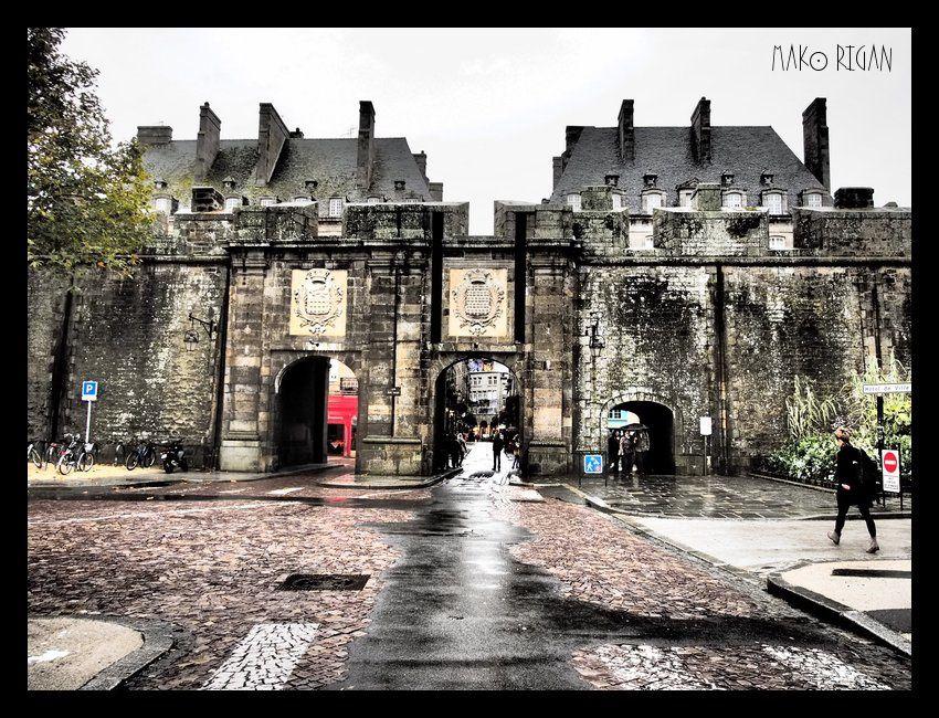 """L'entrée de la ville """"intra-muros"""""""