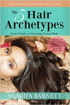 "MsKibibi sort son livre ""The 5 Hair Archetypes"""