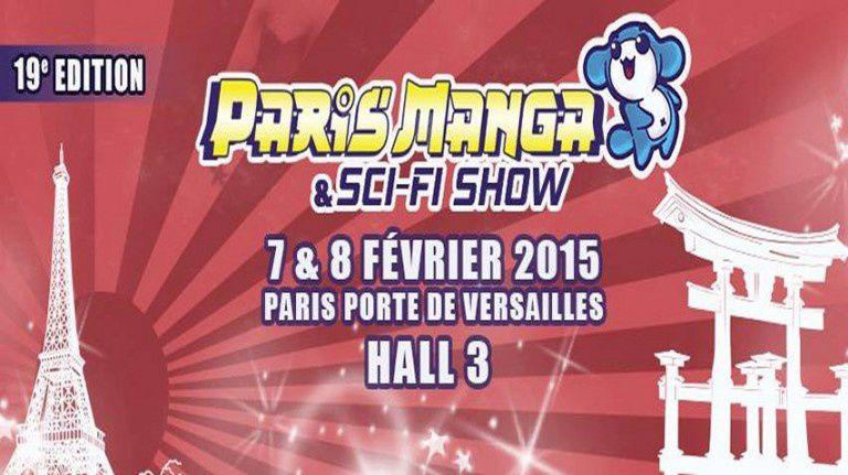 Paris manga sci fi show vous accueille d s f vrier for Expo paris fevrier