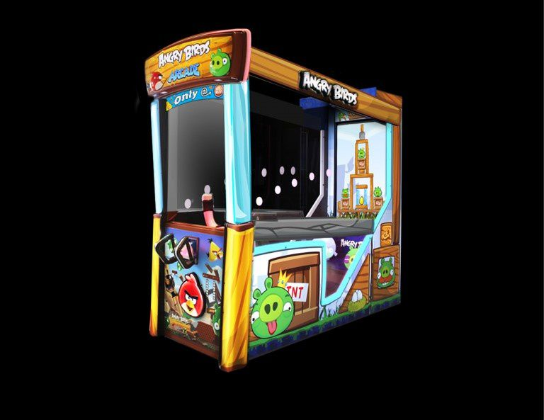 Angry Birds s'offre une borne d'arcade