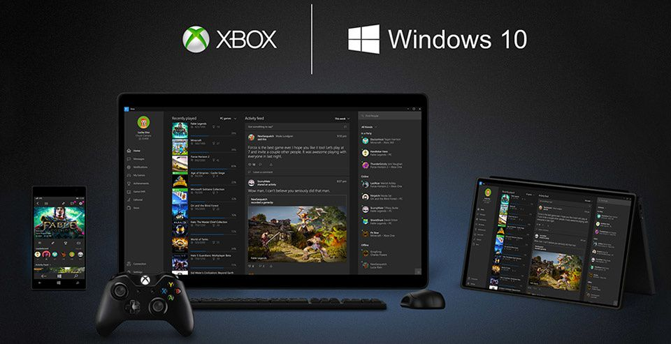 Windows 10 se trouve une date sur Xbox One