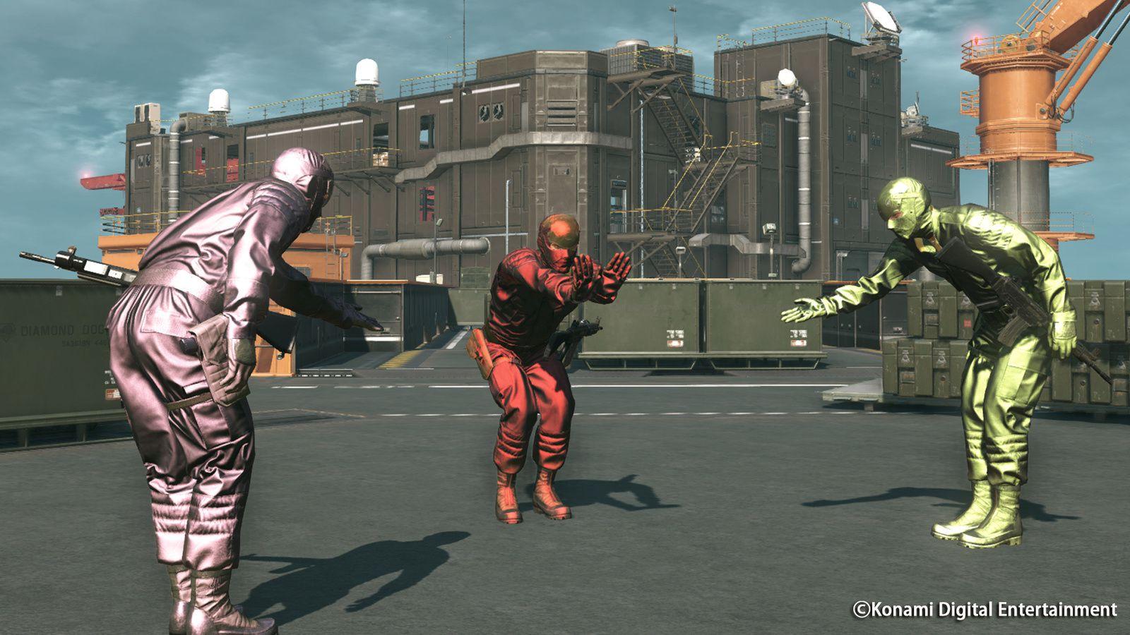 Metal Gear Online : le DLC &quot&#x3B;Cloacked in Silence&quot&#x3B; daté pour le 15 mars