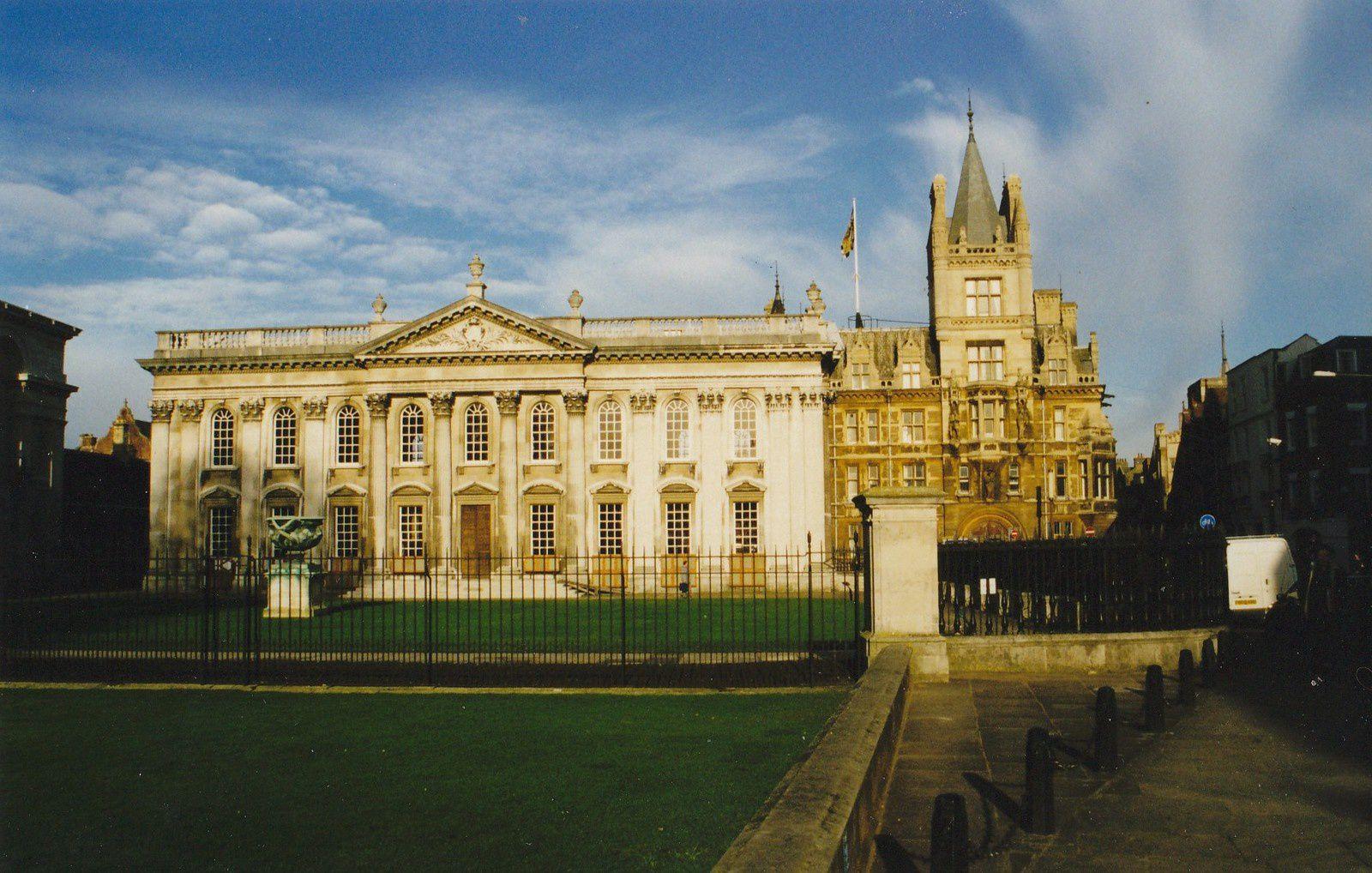 Photo prise lors de notre voyage à Cambridge