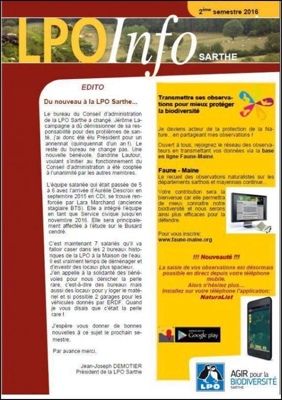 L.P.O. Infos N° 2   2016.