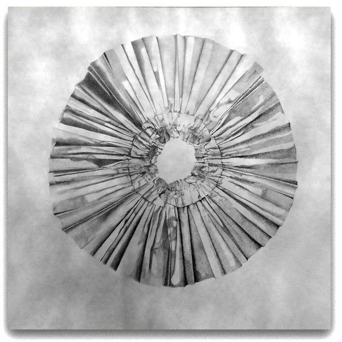 Format 1500x1500 mm - Pierre noire, mine de plomb, crayon graphite sur papier canson