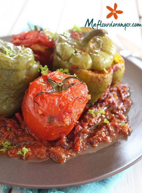 Tajine de légumes farcis