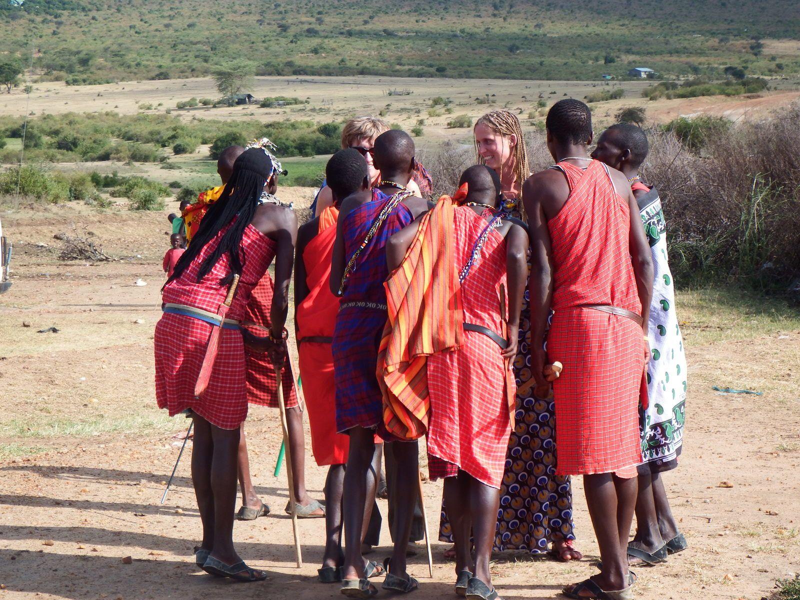Un village Masai