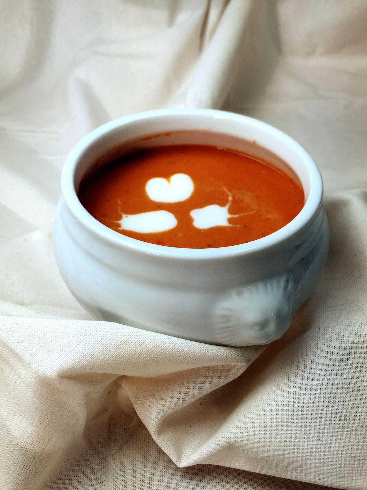 Ma soupe à la tomate !