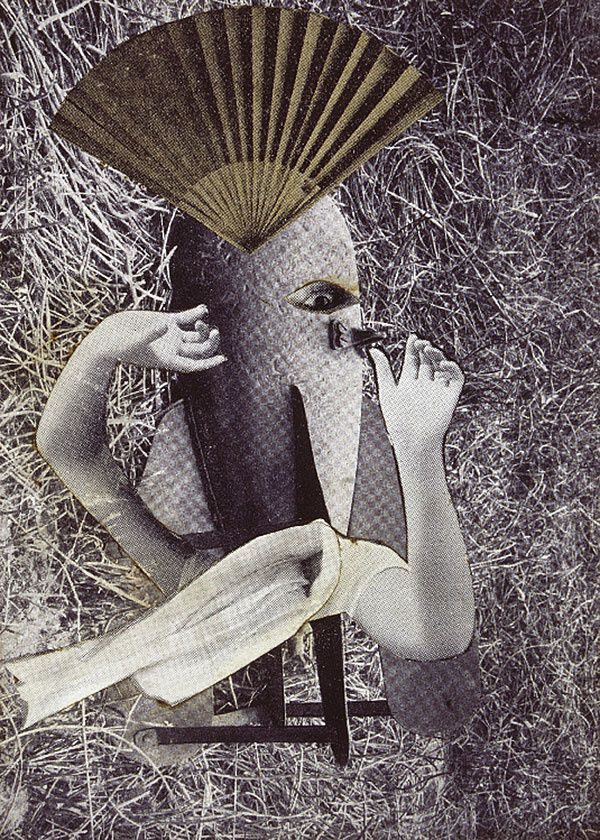 Max Ernest, Le rossignol chinois, Photomontage, 1920