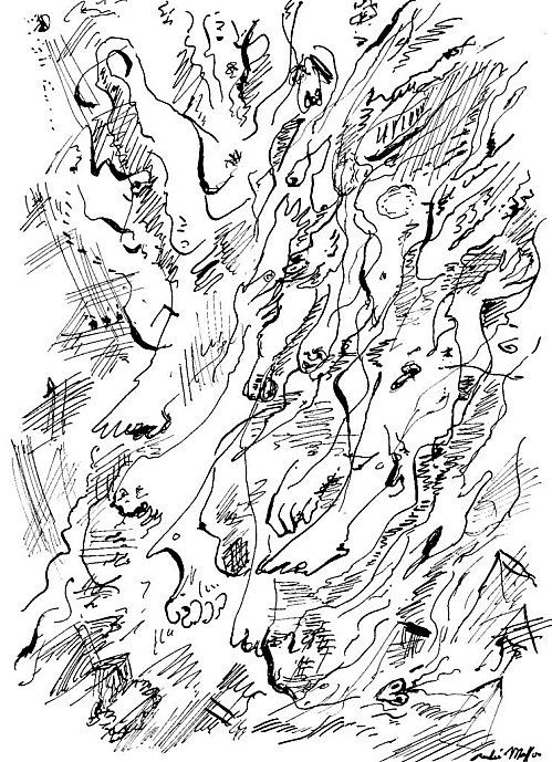 André Masson, Dessin Automatique
