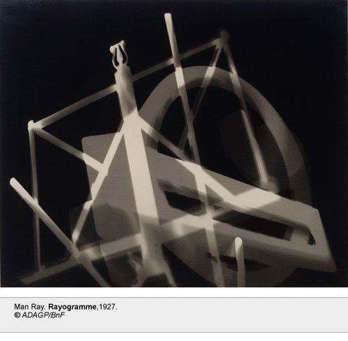 Man Ray, Rayogramme, 1927 - Paris