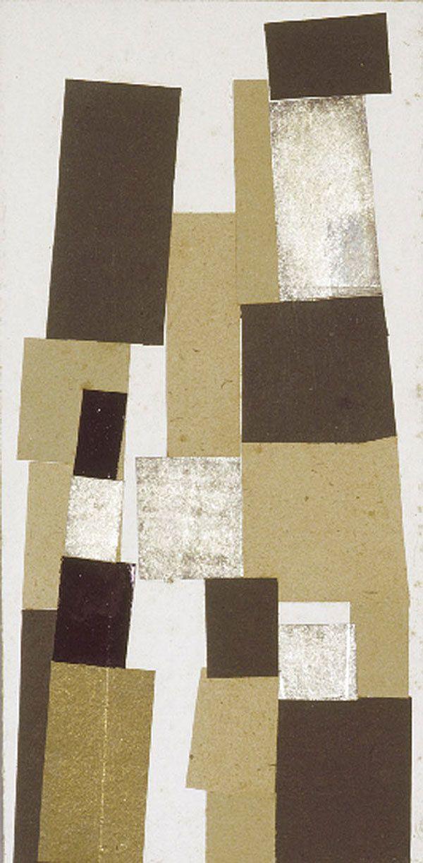 Jean Arp, Rectangles selon les lois du hasard, 1916