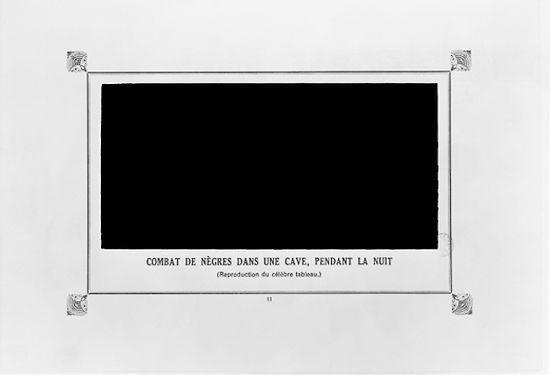 LE MONOCHROME (1900-1920 / puis 1950)