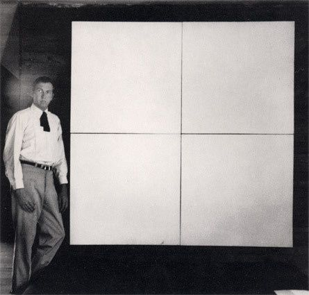 Robert Rauschenberg, White Paintings (four panels), 1951
