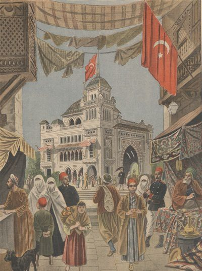 Un pavillon ottoman sur  les bords de Seine à Paris