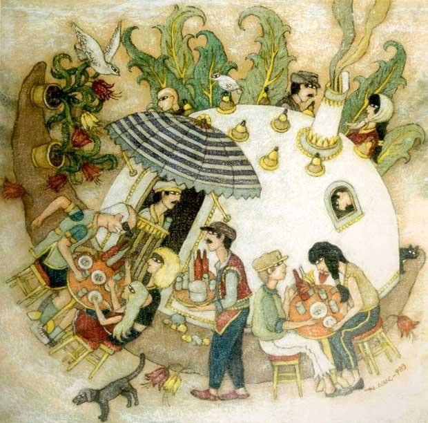 Les &quot&#x3B;turcs empilés&quot&#x3B; de Nuri Abaç, réels et fantastiques.