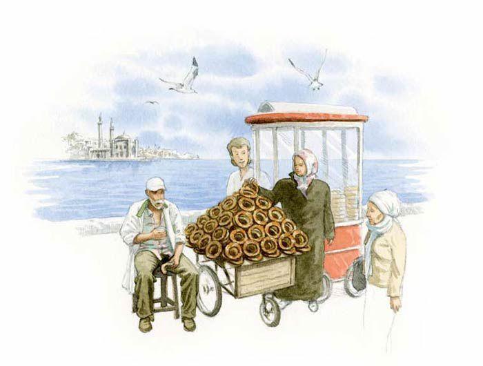 Le tour du monde en 80 pains et arrêt sur le simit turc