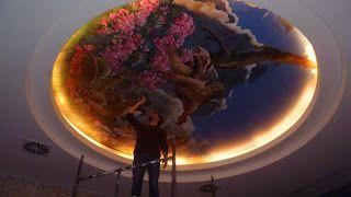 Découvrir Istanbul avec l'oeil d'un poisson : fresque de Sinan Turaman