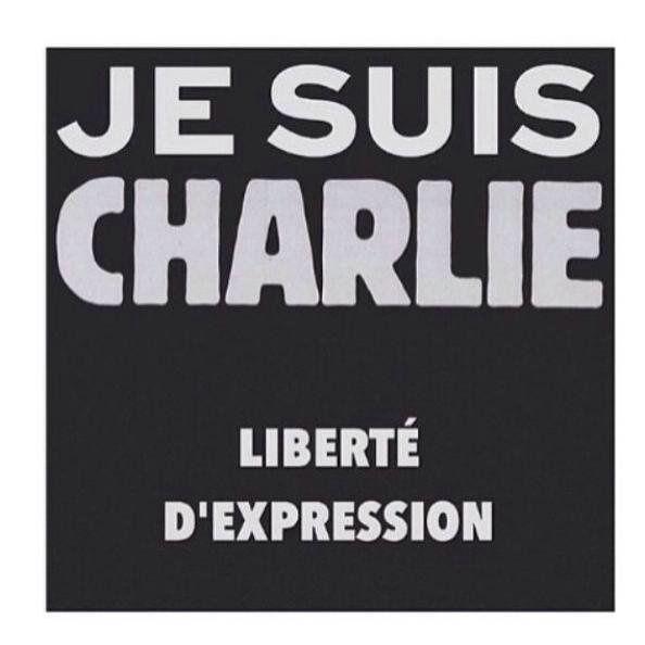 Nous sommes tous Charlie....