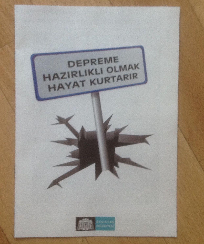 Seisme de Turquie : 16 ans après et sac de secours....