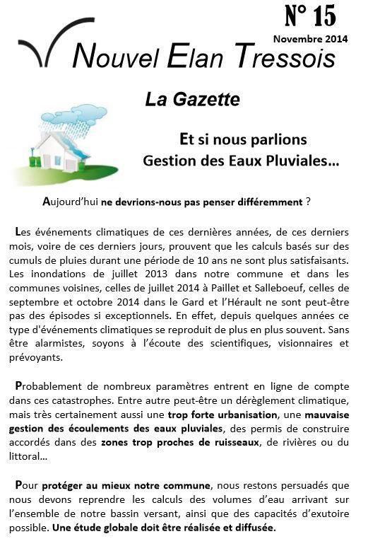 Gazette n°15