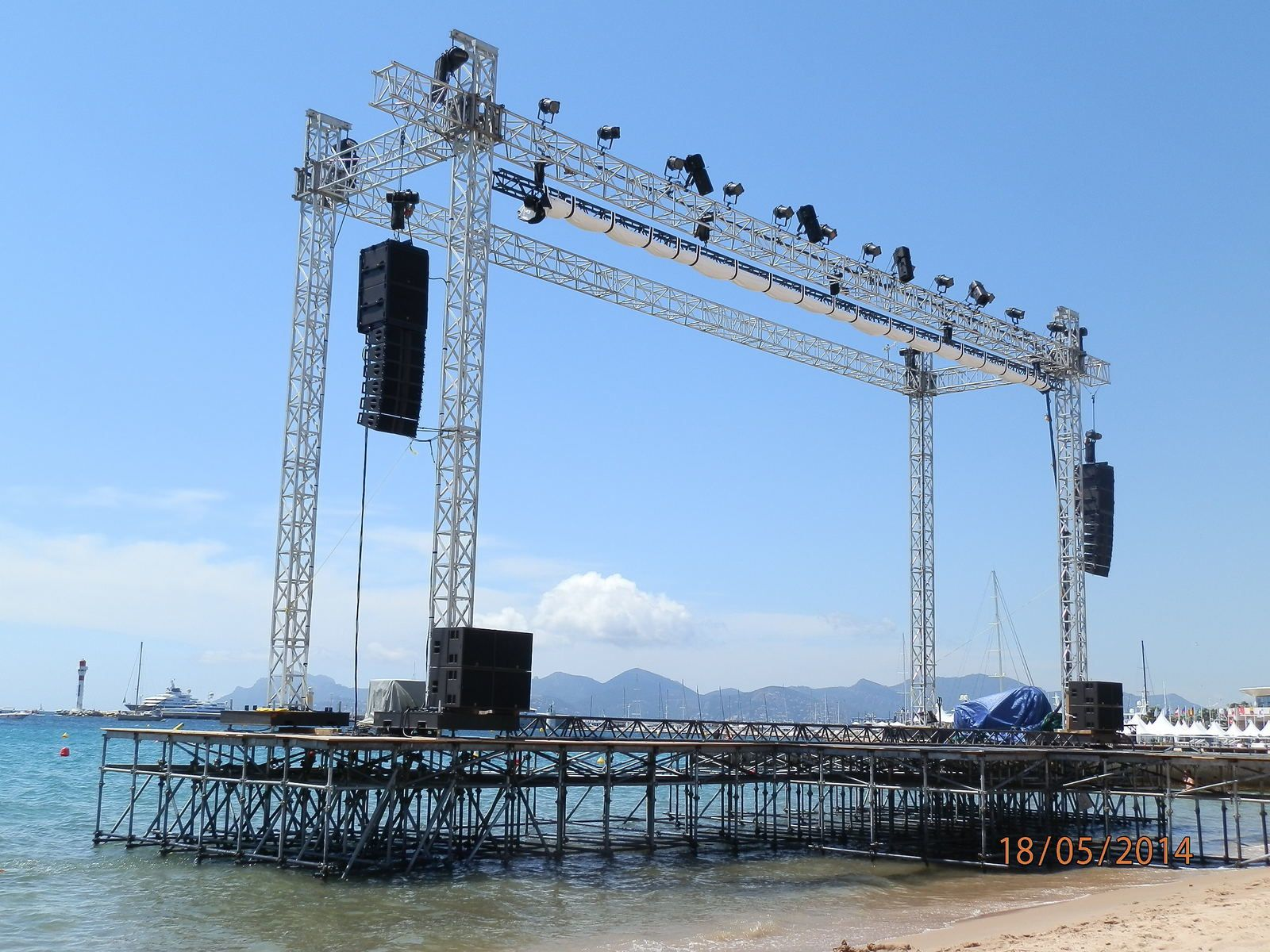 Les dessous du Festival... le cinéma de la plage