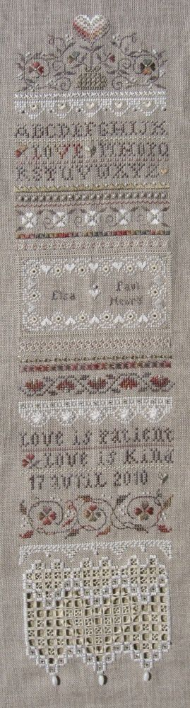 Love is patient, Victoria Sampler... fin