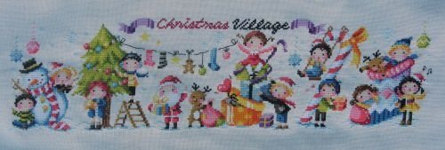 &quot&#x3B;Christmas village&quot&#x3B; de SODAstitch... #4 et fin!