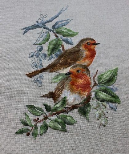 Etude aux oiseaux de Véronique Enginger #5... suite et fin!