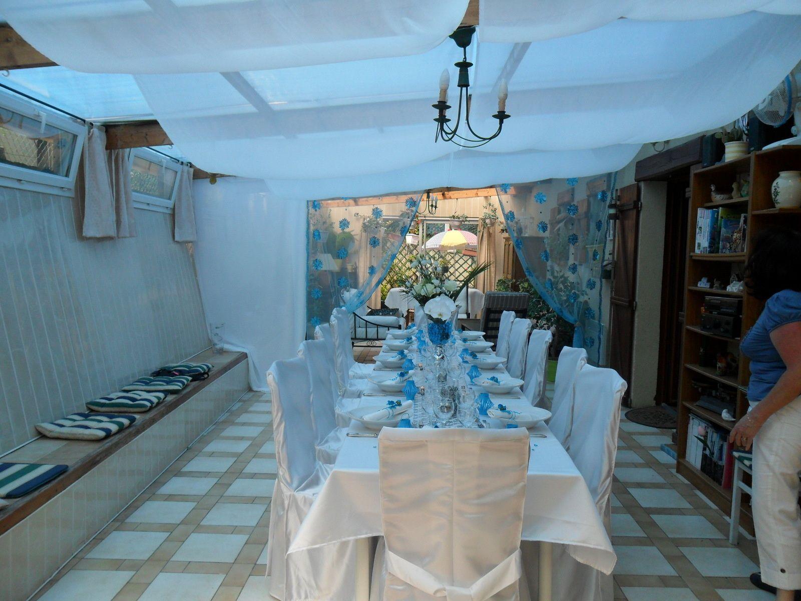 #347097 Déco De Table Turquoise AnnMari'magine 6205 decoration de table de noel turquoise 1600x1200 px @ aertt.com