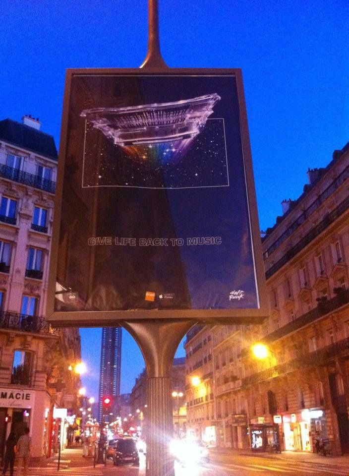 Mysterious Daft Punk Poster Appears In Paris – New Single Incoming?