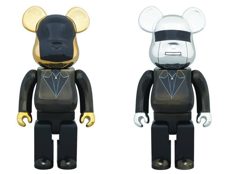 Daft Punk Bearbrick 400% Two Pack