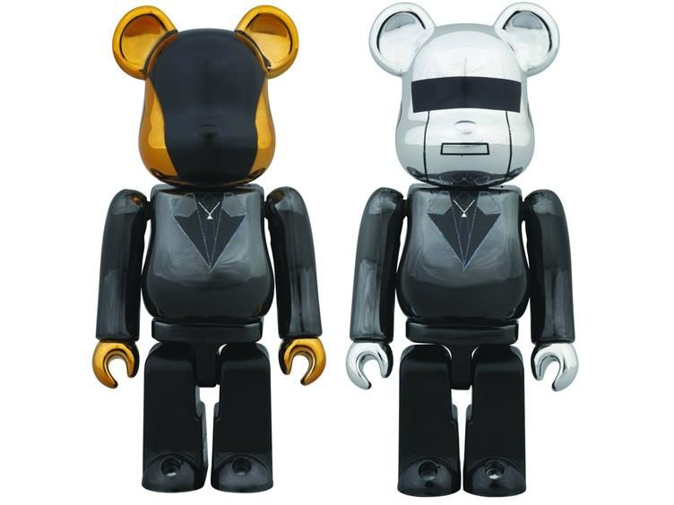 Daft Punk Bearbrick 100% Two Pack