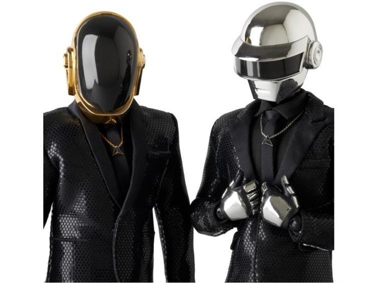 Daft Punk Real Action Heroes (RAH) - Set of 2