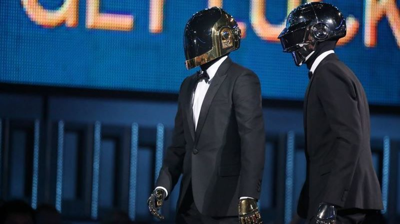 Les Daft Punk au Grammy Awards