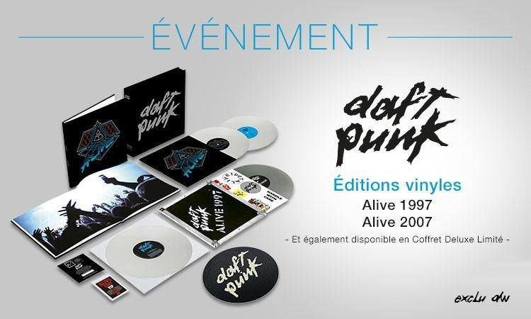 Daft Punk's 'Alive 2007' to be released on vinyl for first time