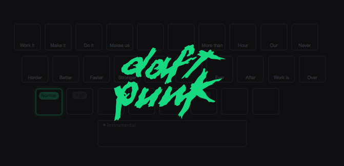Daft Punk : la console de « Harder Better Faster Stronger » disponible en open source