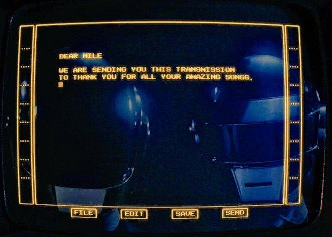 Daft Punk signe un court-métrage en hommage à Nile Rodgers