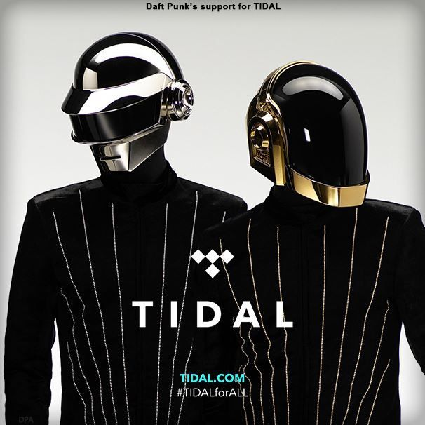 Daft Punk's FULL support for TIDAL