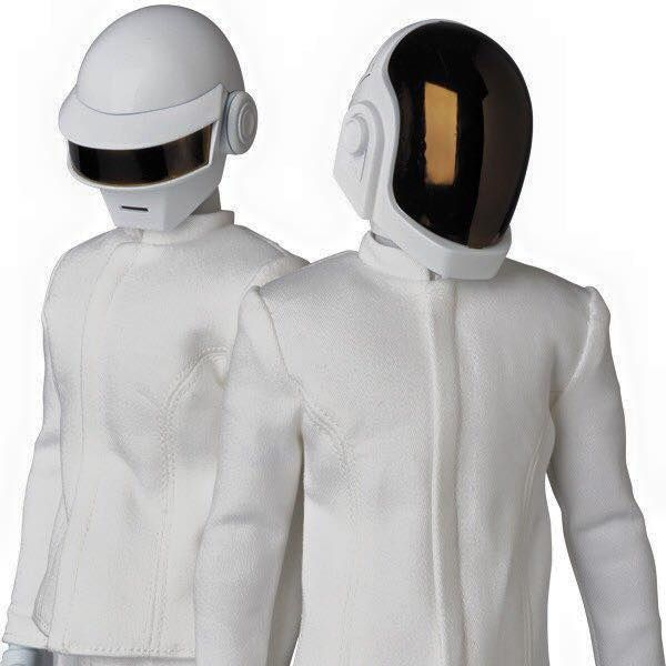 Daft Punk x Medicom Toy Figurines