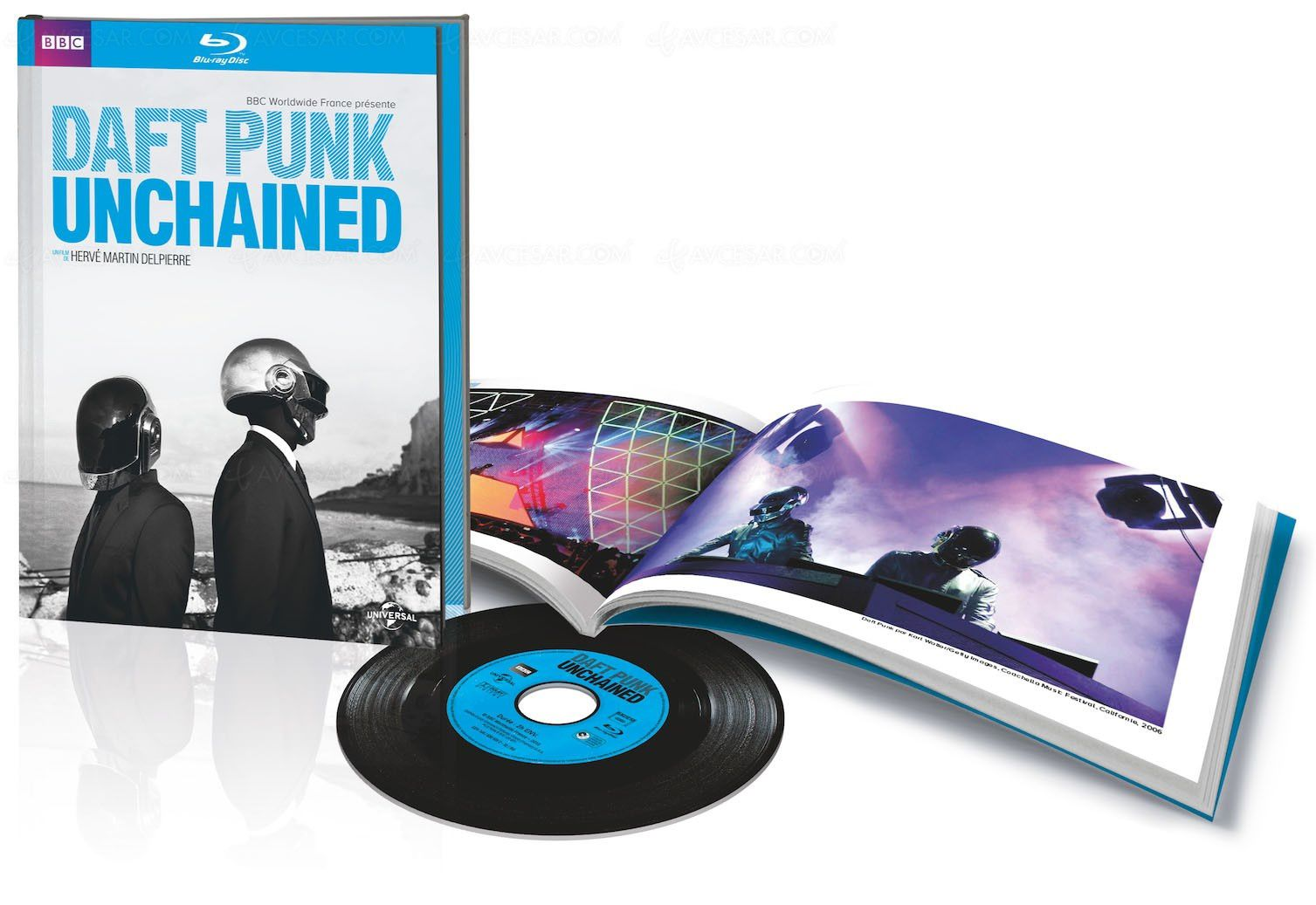 Blu-Ray/DVD Daft Punk Unchained : is playing at your house