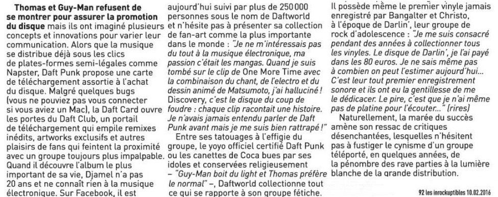 "30 ans, 30 œuvres : ""Discovery"" de Daft Punk"