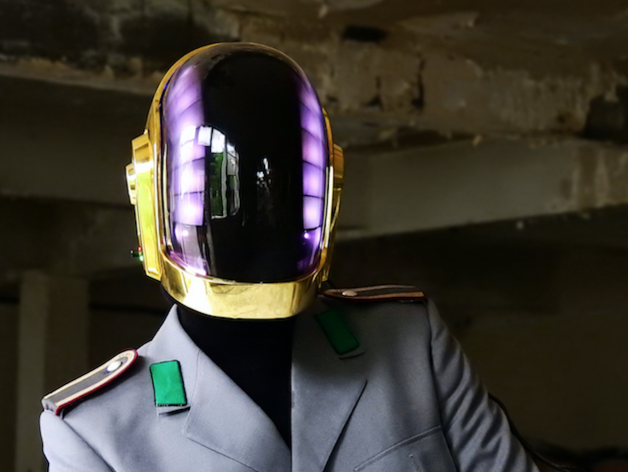 This replica Daft Punk helmet is actually better than Daft Punk's