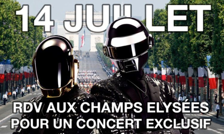 French Military marching band - Daft Punk Medley [Fanfare]