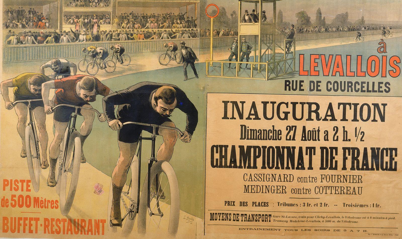 L'âge d'or des vélodromes