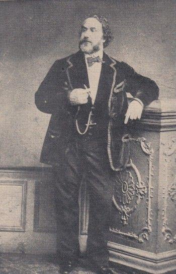 Hippolyte Triat, un drôle de beau gars ! Image, collection perso.