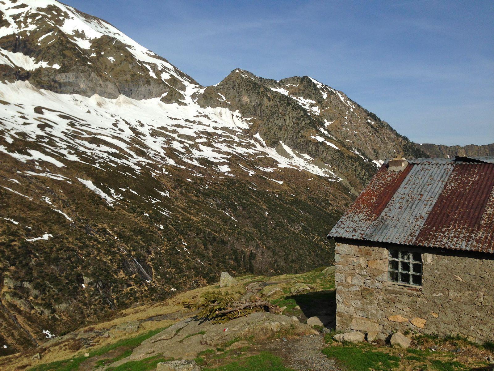 La cabane des Caoussis (1.859m)