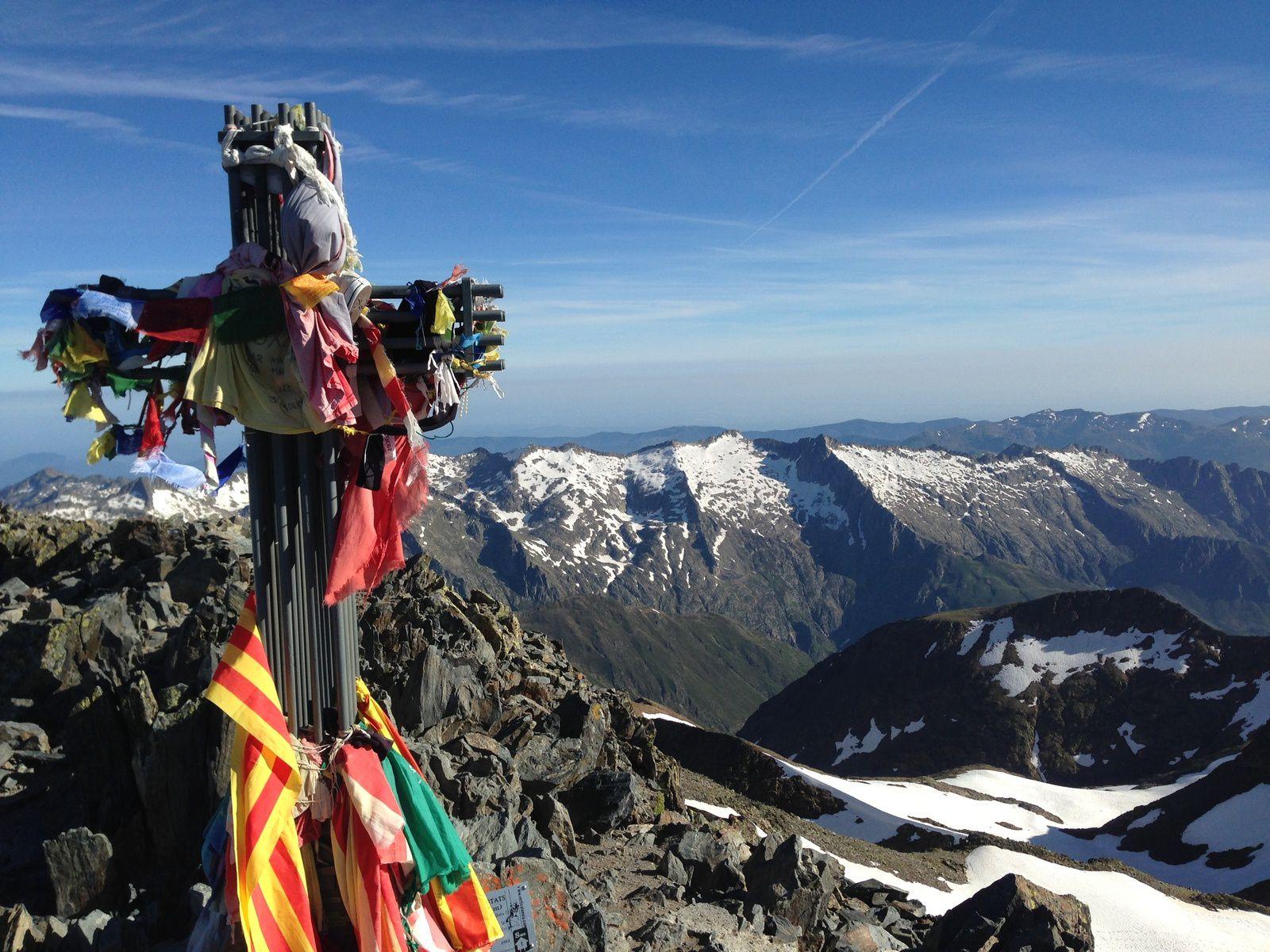 La Pique d'Estats (3.143m) : le plus haut sommet Catalan